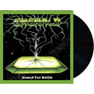 PRE-ORDER: EMERALD - ARMED FOR BATTLE (LTD EDITION 400 COPIES + 2 BONUS TRACKS) LP (NEW)