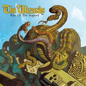 THE WIZARDS - RISE OF THE SERPENT (LTD EDITION 400 COPIES BLACK VINYL, GATEFOLD) LP (NEW)