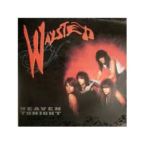 """WAYSTED - HEAVEN TONIGHT (DIFFERENT COVER) 12"""" LP"""