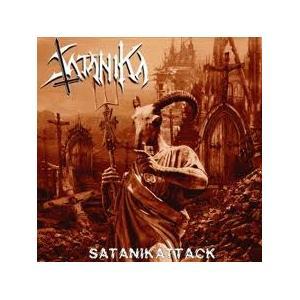 SATANIKA - SATANIKATTACK (LTD NUMBERED EDITION 525 COPIES, GATEFOLD +POSTER) LP