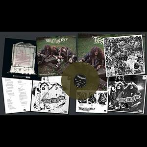 DESTRUCTION - SENTENCE OF DEATH - US COVER (LTD EDITION 500 COPIES GREEN VINYL, +POSTER) LP (NEW)