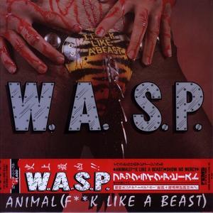 "WASP - ANIMAL F..K LIKE A BEAST/SHOW NO MERCY (JAPAN EDITION +OBI) 12"" LP"