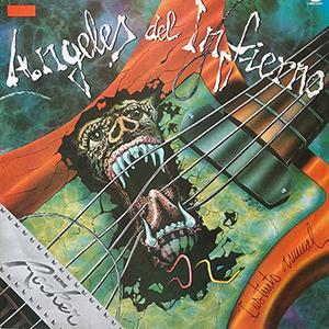 "ANGELES DEL INFIERNO - INSTINTO ANIMAL (MEXICAN EDITION ""SERIE ROCKER"") LP"