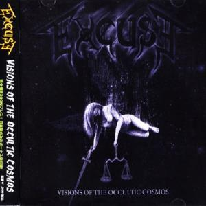 EXCUSE - VISIONS OF THE OCCULTIC COSMOS (JAPAN EDITION +OBI) CD (NEW)
