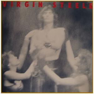VIRGIN STEELE - SAME (CANADIAN EDITION, DIFFERENT COVER, CUT OUT) LP