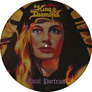 KING DIAMOND - FATAL PORTRAIT (LTD EDITION 2000 COPIES PICTURE DISC) LP (NEW)