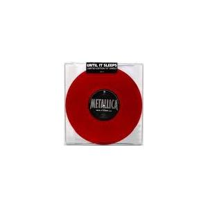 "METALLICA - UNTIL IT SLEEPS (LTD EDITION 10"" RED VINYL) EP 10"" LP (NEW)"