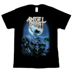 ANGEL DUST - TO DUST YOU WILL DECAY T-SHIRT (SIZE: L) (NEW)