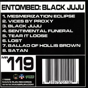 ENTOMBED - BLACK JUJU (FIRST EDITION) CD