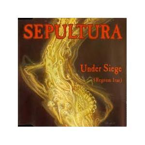 """SEPULTURA - UNDER SIEGE 12"""" LP"""
