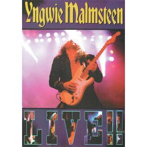 YNGWIE MALMSTEEN - LIVE DVD