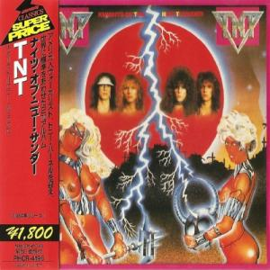 TNT - KNIGHTS OF THE NEW THUNDER (JAPAN EDITION +OBI) CD