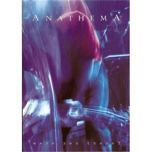 ANATHEMA - WERE YOU THERE DVD
