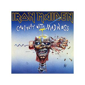 IRON MAIDEN - CAN I PLAY WITH MADNESS - LIVE AT CASTLE DONNINGTON 1988 LP