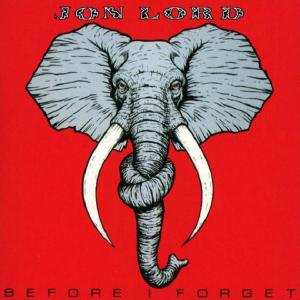 JON LORD - BEFORE I FORGET LP
