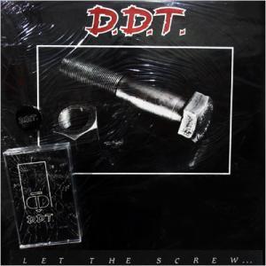 "D.D.T. - LET THE SCREW... (INCL. ORIGINAL SEALED DEMO TAPE ""VICTIMS"" 1989 & ORIGINAL PIN) MLP"