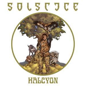 SOLSTICE - HALCYON (LTD EDITION BLACK VINYL +INSERT) LP (NEW)