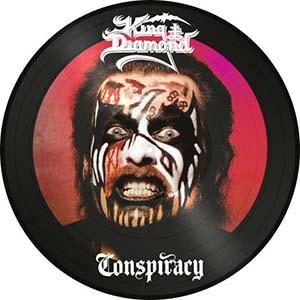 KING DIAMOND - CONSPIRACY (LTD EDITION 2000 COPIES PICTURE DISC) LP (NEW)