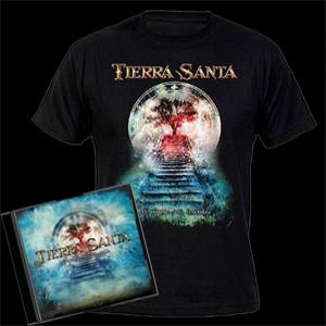 TIERRA SANTA - MI NOMBRE SERA LEYENDA (LTD EDITION 100 COPIES +T-SHIRT - SIZE: L, +BONUS TRACK) CD/T-SHIRT (NEW)