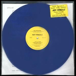 "NOT FRAGILE - UNTITLED 3-TRACK EP (LTD EDITION 200 COPIES BLUE VINYL) 12"" LP"