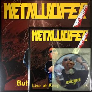 METALUCIFER - BULLDOZING IN TRUE - LIVE AT K.I.T. 2011 (LTD EDITION 200 COPIES CLEAR VINYL INCL. BONUS DVD & 12-PAGES BOOKLET) LP (NEW)
