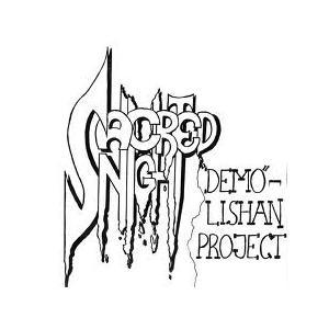 "SACRED NIGHT - DEMO-LISHAN PROJECT (SWEDISH PRIVATE) 7"""
