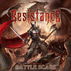 RESISTANCE - VOLUME 1 BATTLE SCARS (LTD EDITION 350 COPIES) LP (NEW)
