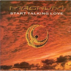 """MAGNUM - START TALKING LOVE 12"""" LP"""