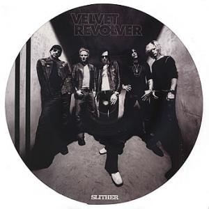 "VELVET REVOLVER - SLITHER/SET ME FREE (PICTURE DISC) 12"" LP"