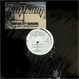 "TANTRUM - TRENTON CITY MURDERS (LTD EDITION 1000 COPIES, ORIGINAL SHRINK WRAP & STICKER) 12"" LP"