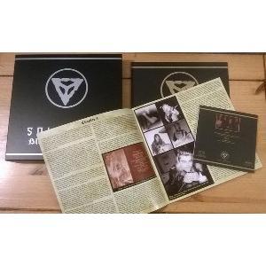 SOLSTICE - BLOOD FIRE DOOM (LTD EDITION BOXSET 250 COPIES RED SPLATTER VINYL) BOX SET (NEW)
