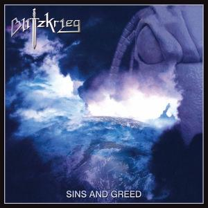 BLITZKRIEG - SINS AND GREED (LTD EDITION 100 COPIES BLACK VINYL) LP (NEW)