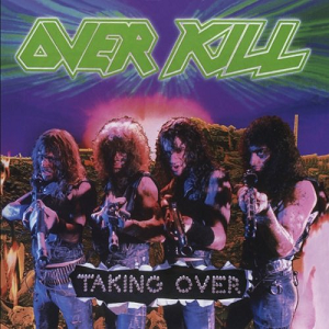 OVERKILL - TAKING OVER (JAPAN EDITION +LYRICS) LP