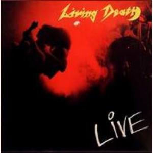 LIVING DEATH - LIVE LP