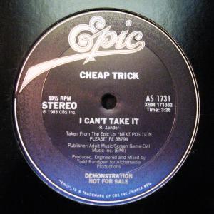 """CHEAP TRICK - I CAN'T TAKE IT (PROMO) 12"""" - LP"""