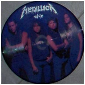 "METALLICA - ONE (PROMO PICTURE DISC) 10"" LP"