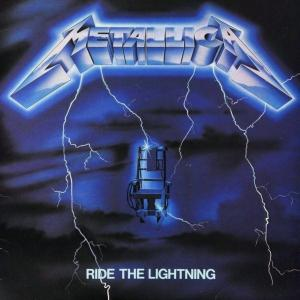 METALLICA - RIDE THE LIGHTNING (WARNER BROS 2008 REISSUE, REMASTERED) LP