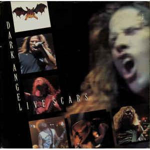 DARK ANGEL - LIVE SCARS (U.S.A COMBAT +STICKER) LP