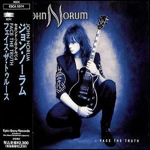 JOHN NORUM - FACE THE TRUTH (JAPAN EDITION +OBI) CD