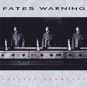 FATES WARNING - PERFECT SYMMETRY (REISSUE 2018, LTD 200 COPIES NUMBERED CLEAR/LAVENDER MARBLED VINYL, +POSTER) LP (NEW)