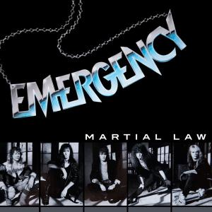 EMERGENCY - MARTIAL LAW CD (NEW)