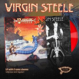 VIRGIN STEELE - SAME (2018 DELUXE EDITION 2-COVER SLEEVES VERSION, LTD 100 COPIES RED VINYL) LP (NEW)