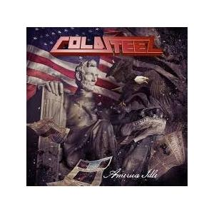 COLDSTEEL - AMERICA IDLE (+3 POSTERS, AUTOGRAPHED) LP (NEW)