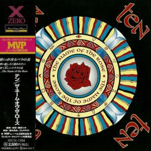 TEN - THE NAME OF THE ROSE (JAPAN EDITION +OBI) CD