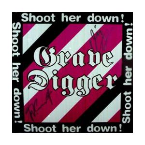 "GRAVE DIGGER - SHOOT HER DOWN 12"" LP"