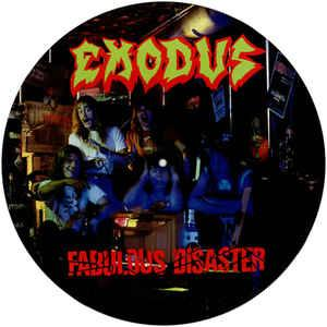 EXODUS - FABULOUS DISASTER (PICTURE DISC) LP