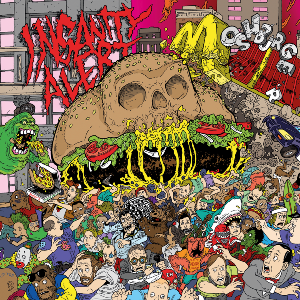 INSANITY ALERT - MOSHBURGER (LTD EDITION 500 COPIES) LP (NEW)
