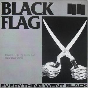 BLACK FLAG - EVERYTHING WENT BLACK LP
