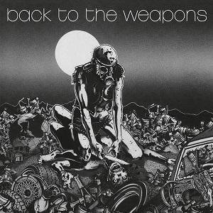 """LIVING DEATH - BACK TO THE WEAPONS 12"""" LP"""