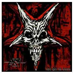 DEATHFIST - TOO HOT TO BURN (LTD EDITION 350 COPIES BLACK VINYL +POSTER) LP